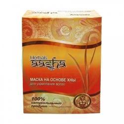Маска для укрепления волос на основе индийской хны против перхоти Aasha Herbals 80 гр.