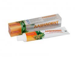 Натуральная зубная паста Кардамон-Имбирь уход за зубами и деснами Aasha Herbals 100 мл.