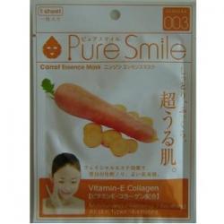 Pure Smile Успокаивающая маска для лица с эссенцией моркови 23мл