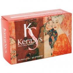 Мыло косметическое Kerasys silk moisture bar 100 гр