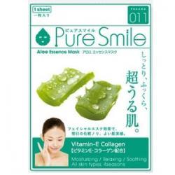 Pure Smile Essence mask Увлажняющая маска для лица с экстрактом алоэ 23мл