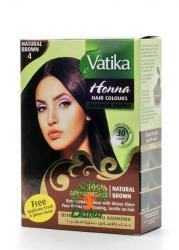 Хна для окраски волос Vatika Henna Hair Colors Naturals Brown