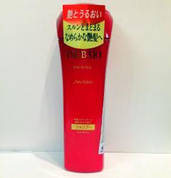 """SHISEIDO """"Tsubaki Shining"""" Шампунь для придания блеска волосам с маслом камелии 220 мл."""