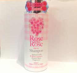 Шампунь ROSE & ROSE 6 видов роз для нормальных и ослабленных волос