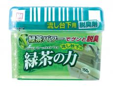 """Поглотитель запахов под раковиной """"Сила зеленого чая"""" 150 гр"""