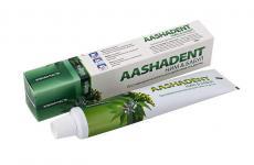 Натуральная зубная паста Ним-Бабул противовосполительное действие на десны Aasha Herbals 100 мл.