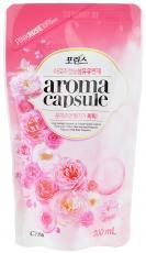 """Кондиционер для белья Lion """"Porinse Aroma Capsule"""", с ароматом розы, 300ml"""