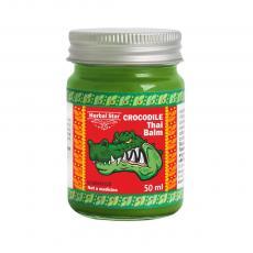 """Тайский бальзам из жира сиамского крокодила """"Herbal-Star"""" от мелких трещин, ссадин и ожогов, 50ml."""
