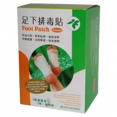 Пластыри для стопы Detox оздоровительно профилактические