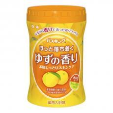 Соль для ванны Hakugen с ароматом Юдзу, с восстанавливающим эффектом 680 гр