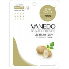 Vanedo Beauty Friends Тонизирующая маска для лица с эссенцией картофеля 25 мл.