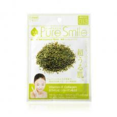 Pure Smile Антиоксидантная маска для лица с эссенцией зеленого чая 23мл