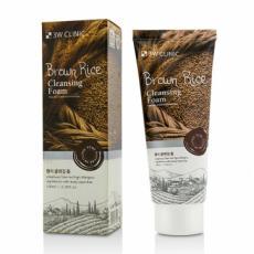 Пенка для умывания с экстрактом коричневого риса 3W Clinic Brown Rice Foam Cleansing, 100 ml