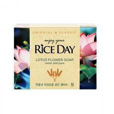 Мыло с экстрактом лотоса Rice Day,100g