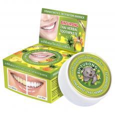 Зубная паста Binturong с экстрактом ананаса 33 гр