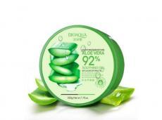 Bioaqua гель увлажняющий для лица и тела с натуральным соком Алоэ ВЕРА | Bioaqua Aloe Vera 92% Soothing Gel,220g