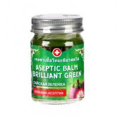 Бальзам-асептик тайская зеленка Binturong Aseptic Balm Brilliant Green, 50g