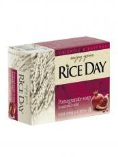 """Мыло с экстрактом граната и пиона """"Rice Day"""",100g"""