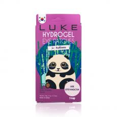 LUKE Гидрогелевые патчи для кожи вокруг глаз от отечности с экстрактами огурца и бамбука Hydrogel Eye Patch for Eye Puffiness, 5пар