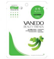 Vanedo Beauty Friends Успокаивающая маска для лица с огуречной эссенцией 25 мл.
