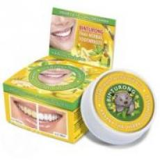 Зубная паста Binturong Banana Thai Herbal Toothpaste c экстрактом банана, 33гр