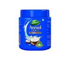 Кокосовое масло чистое Anmol Gold Dabur, 175ml