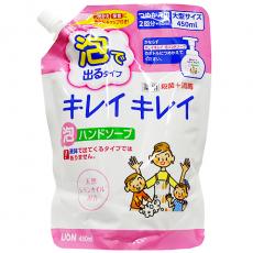 """LION """"Kirei kirei"""" пенка для рук с ароматом цитрусовых сменный блок 450 мл"""