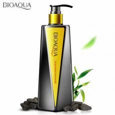 BIOAQUA Освежающий шампунь-кондиционер для волос с бамбуковым углем, 300ml