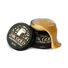 Золотая антивозрастная маска для лица Esthetic House Piolang 24K Goldwrapping Mask, 80ml