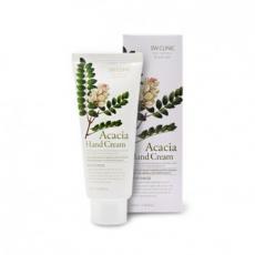Крем для рук увлажняющий с экстрактом акации 3W Clinic Acacia Hand Cream,100 ml