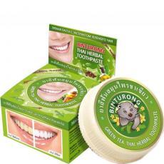Зубная паста с экстрактом зеленого чая 33 гр